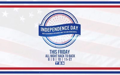 Lee Greenwood To Perform on TBN's Independence Day Weekend Celebration Co-Hosted with Governor Mike Huckabee and The Oak Ridge Boys and featuring Nicole C. Mullen