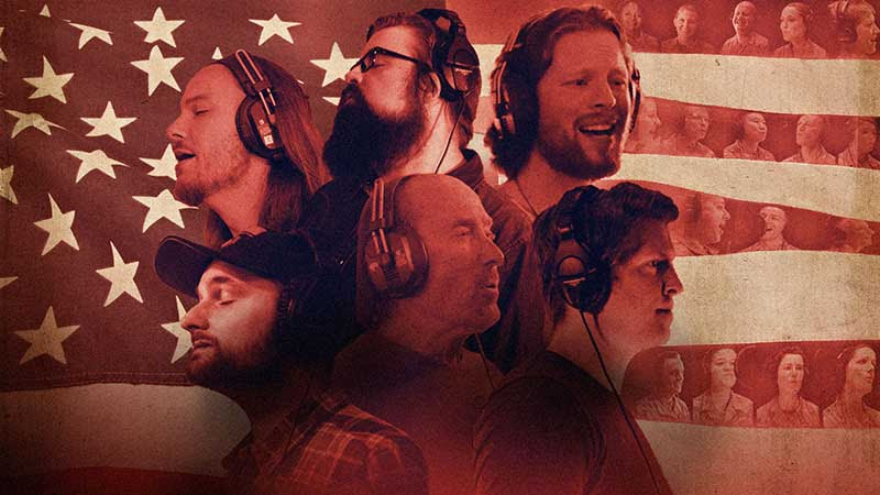 "Watch Now: The Stars Align As Home Free, Lee Greenwood & The United States Air Force Band Come Together For A Special Take On ""God Bless The U.S.A."""