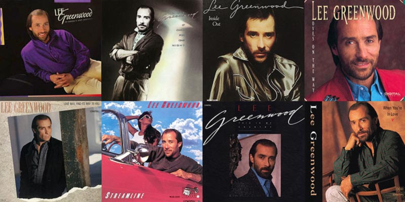 Eight Lee Greenwood Catalog Albums Streaming For The First Time Available Today
