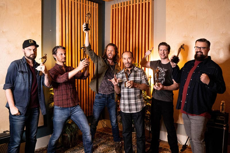 """LEE GREENWOOD + HOME FREE WIN 2021 TELLY AWARD FOR 'MOST VIRAL VIDEO' WITH OVER 200 MILLION VIEWS OF """"GOD BLESS THE USA"""" THROUGH ALL SOCIAL MEDIA PLATFORMS"""