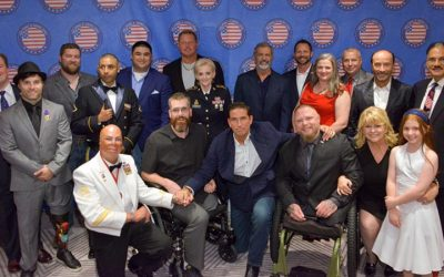HELPING A HERO & LEE GREENWOOD HONOR ROGER CLEMENS, JIM CAVIEZEL, TAVIA & CLARK HUNT, MEREDITH ILER & MORE WITH AWARDS AT HELPINGAHERO.ORG BANQUET