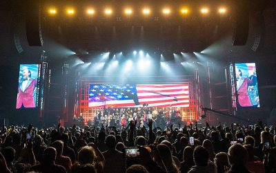 LEE GREENWOOD HONORED IN HUNTSVILLE, ALABAMA WITH ALL-STAR SALUTE MUSICAL CELEBRATION